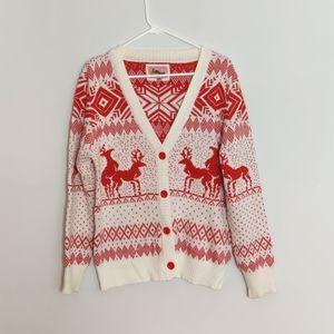 Tipsy Elves Naughty Reindeer Christmas Sweater